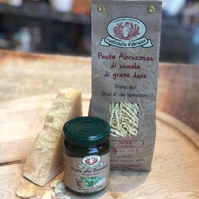 Trofie al Pesto Pasta Dinner Kit - For two