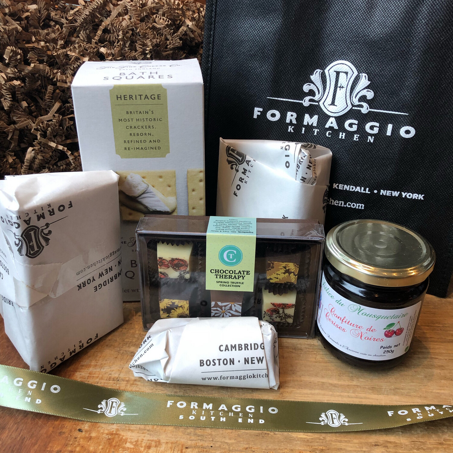 Cheese Gift Basket or Tote - Small