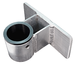 """Gunnel Mount, Sleeved 1.5"""" with 1-5/8"""" Spacer"""