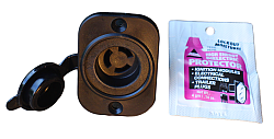 RECEPTACLE FEMALE END 3 PRONG