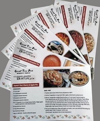 Poetry & Pie Bundle -  3Chapbooks +  6 Pie Recipes