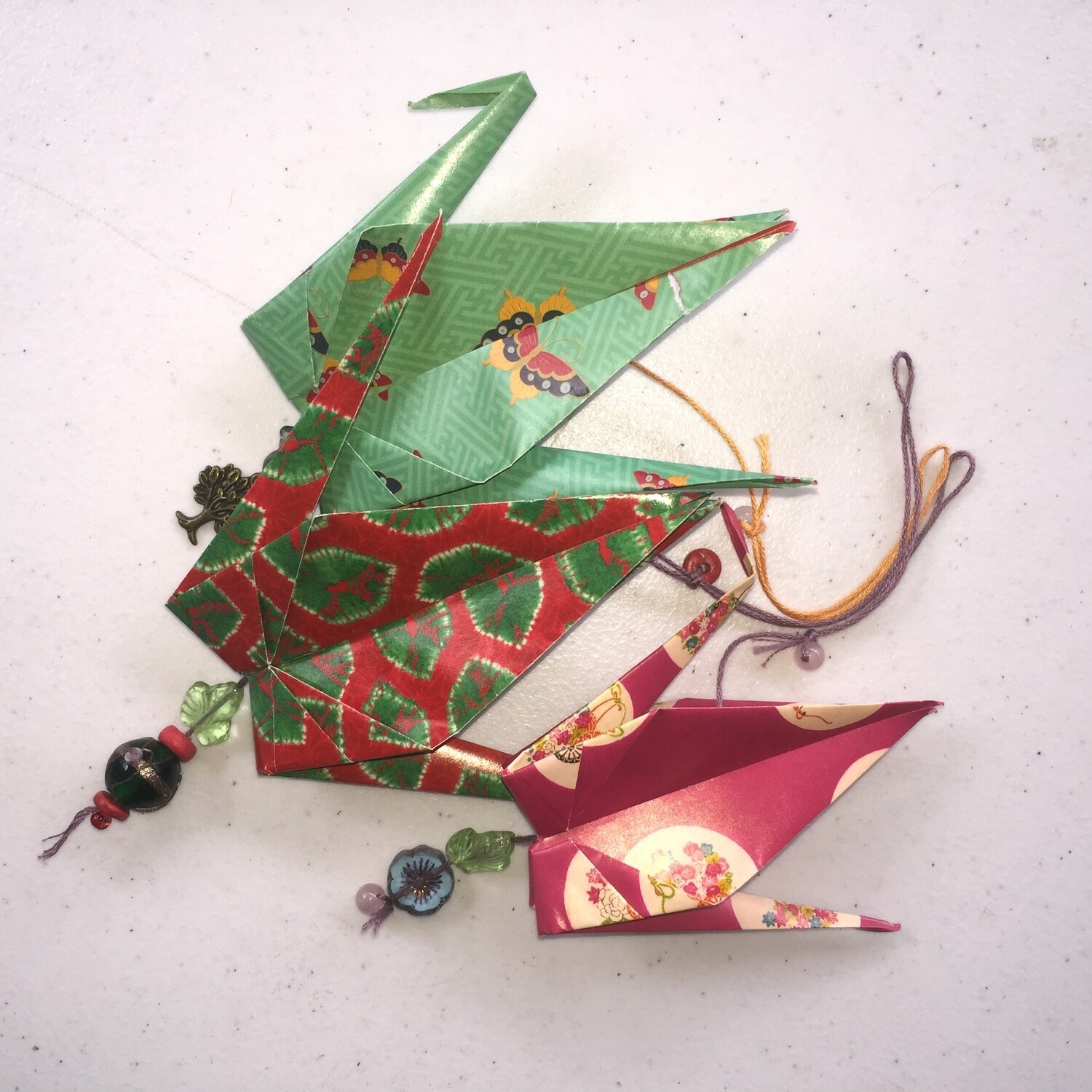 Origami Cranes Handcrafted at Great Tree