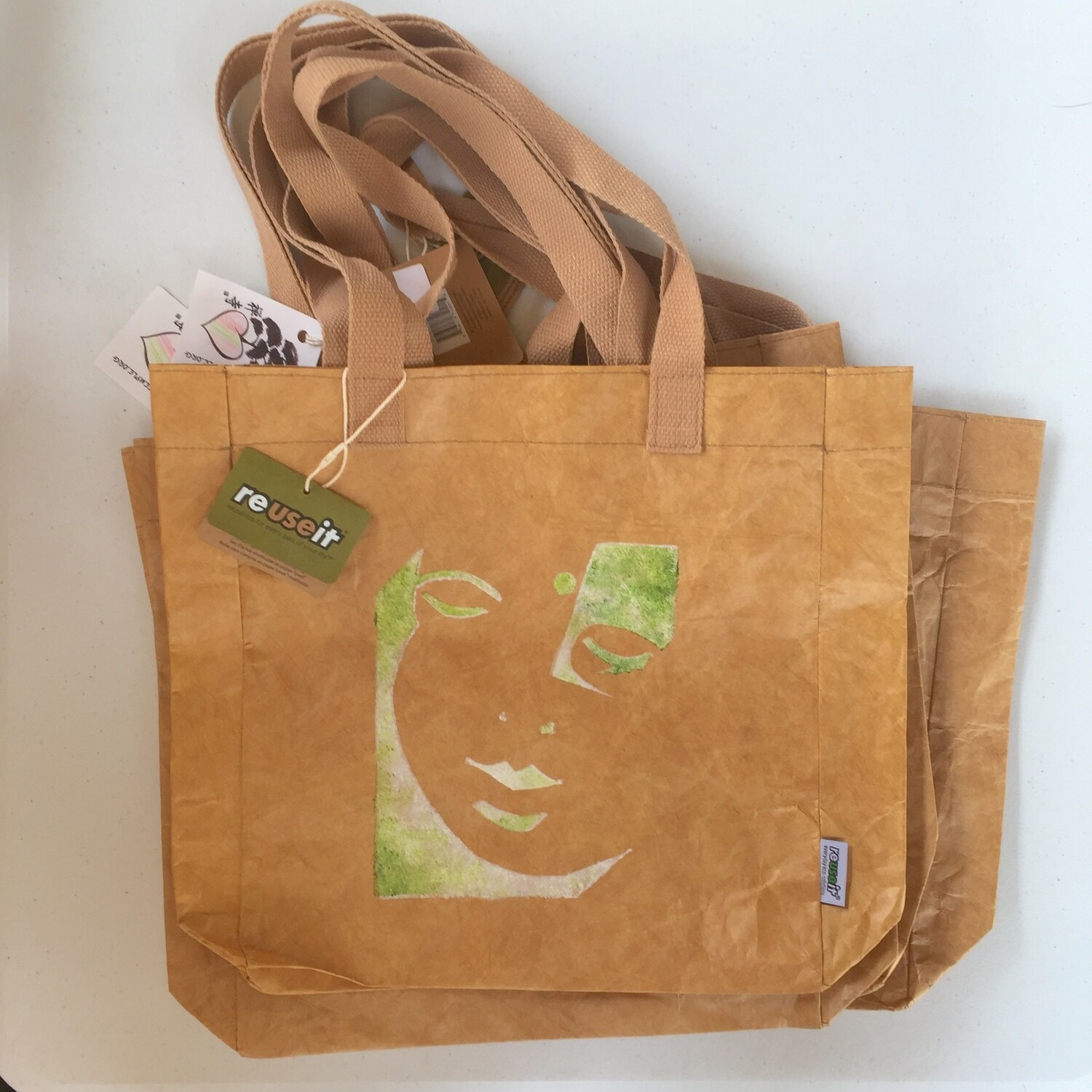 Recycled RESET Tote Bags