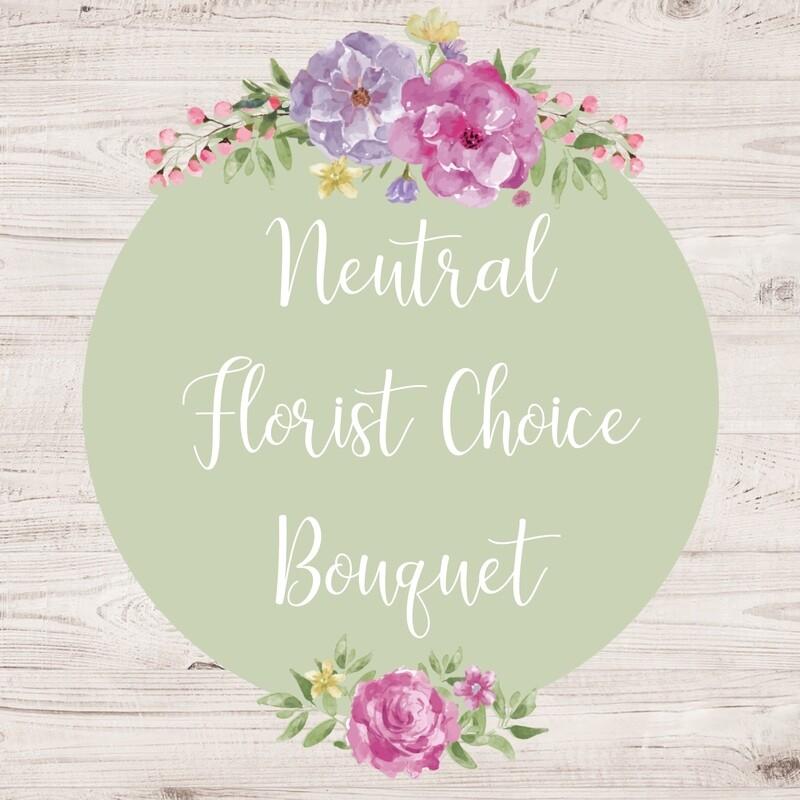 Florist Choice Bouquet Neutral (larger sizes available to choose)