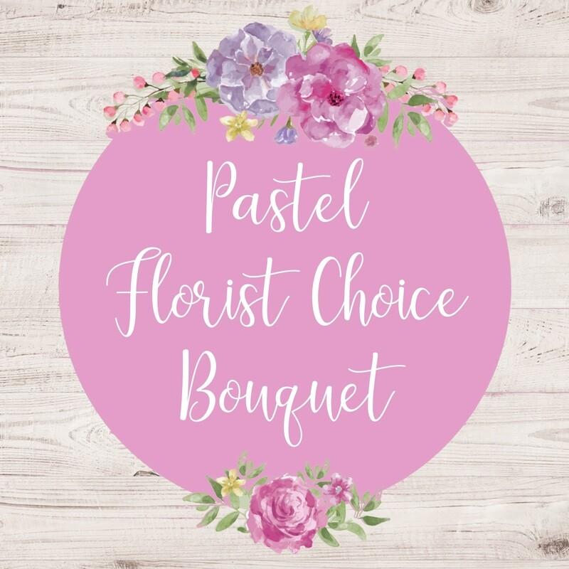 Florist Choice Bouquet Pastel (larger sizes available to choose)