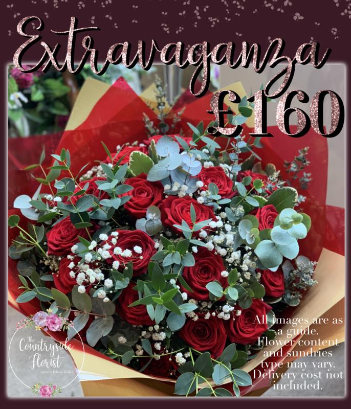 Extravaganza  Valentine's Day Bouquet