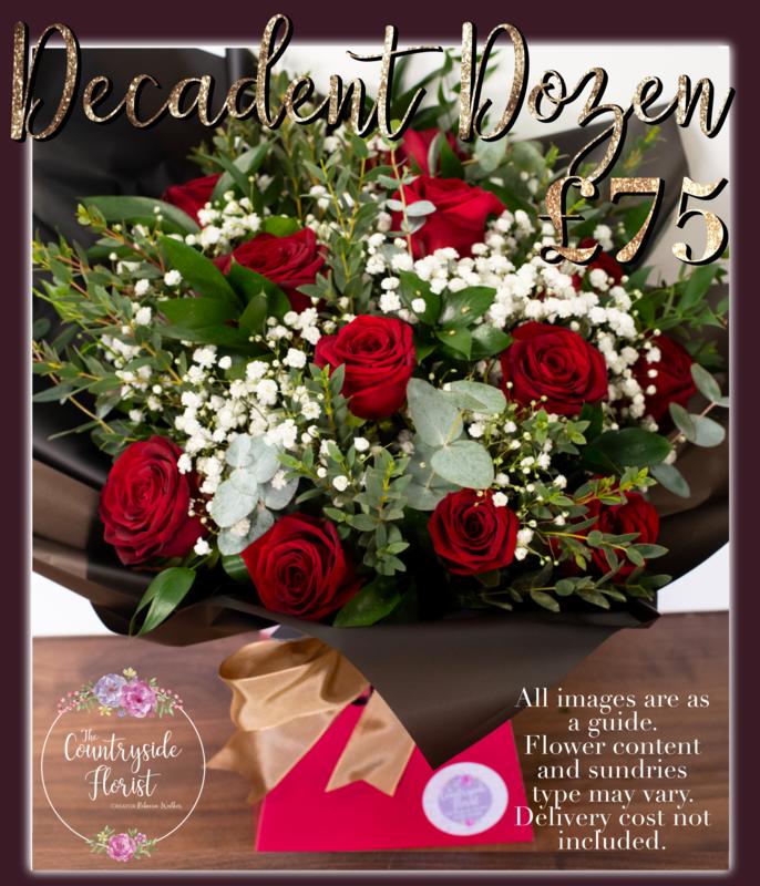 Decadent Dozen Valentine's Day Bouquet