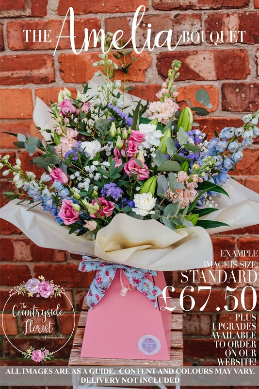 The Amelia Bouquet - Mother's Day Flowers (upgrades available)