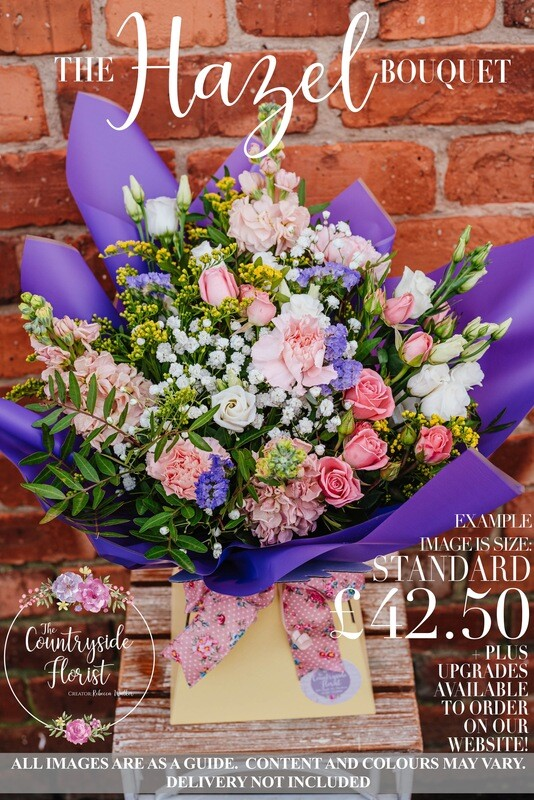 The Hazel Bouquet - Mother's Day Flowers (upgrades available)