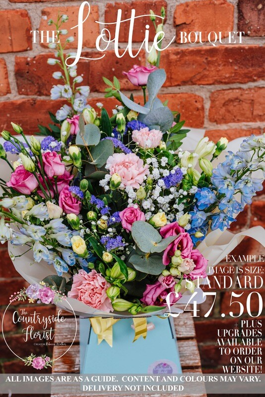 The Lottie Bouquet - Mother's Day Flowers (upgrades available)
