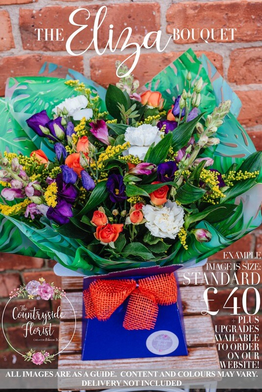 The Eliza Bouquet - Mother's Day Flowers (upgrades available)