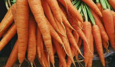 Carrots - Washed (UK)