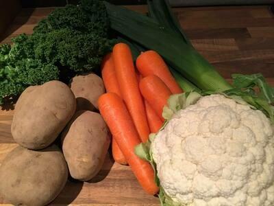 Vegetable Box £10