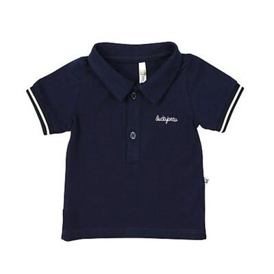 DB Donkerblauwe polo