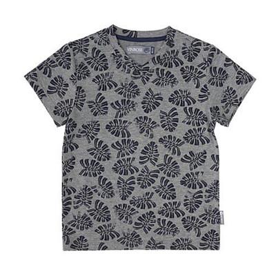 VR t-shirt met blaadjes