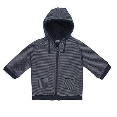 RIFFLE Donkerblauw jasje met streepjes