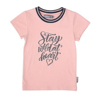VR T-shirt 'Stay wild at heart'