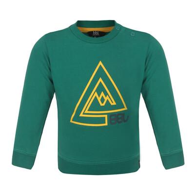 BBL Groene trui met berg print