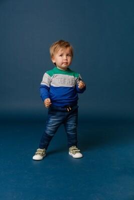 BBL Donkerblauwe jeansbroek
