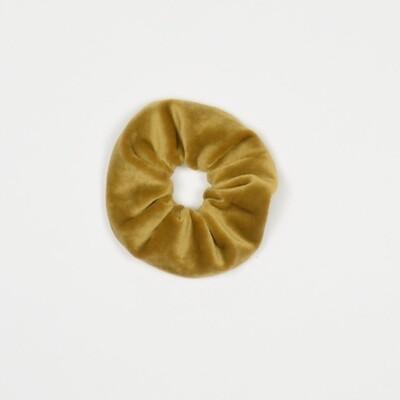 NL Scrunchie velvet goud
