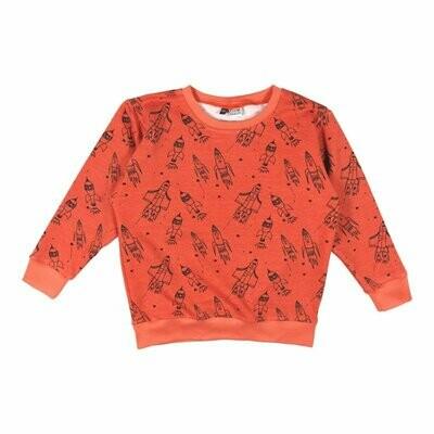 KB Oranje trui met raketten