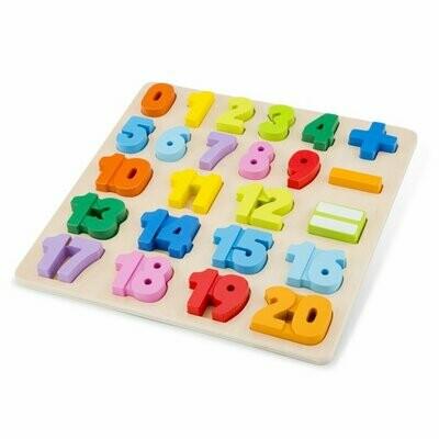 Getallen puzzel