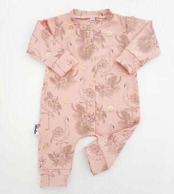 LA Roze kruippak met flamingo's