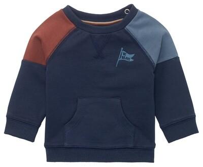 Noppies Donkerblauwe trui 'Be Brave'