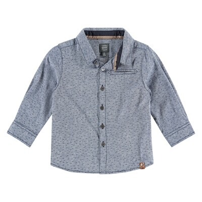 BFC Blauw hemd met streepjes
