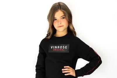 VR Zwarte trui Vinrose