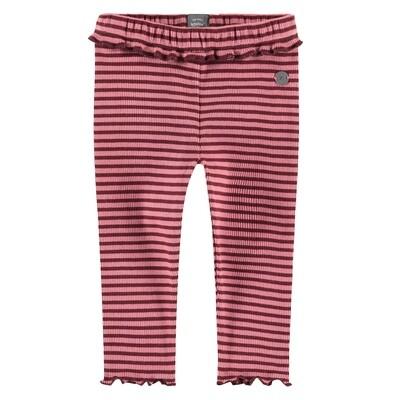 BFC Roze gestreepte legging