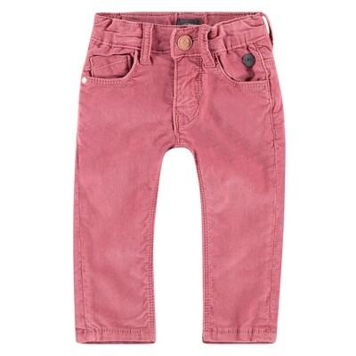 BFC Roze fluweel broek