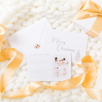 PRINTED Family Gift Voucher