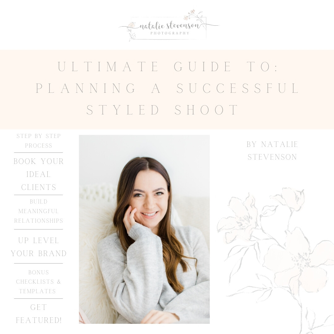 Ultimate Guide to Planning a Successful Styled Shoot E-Course