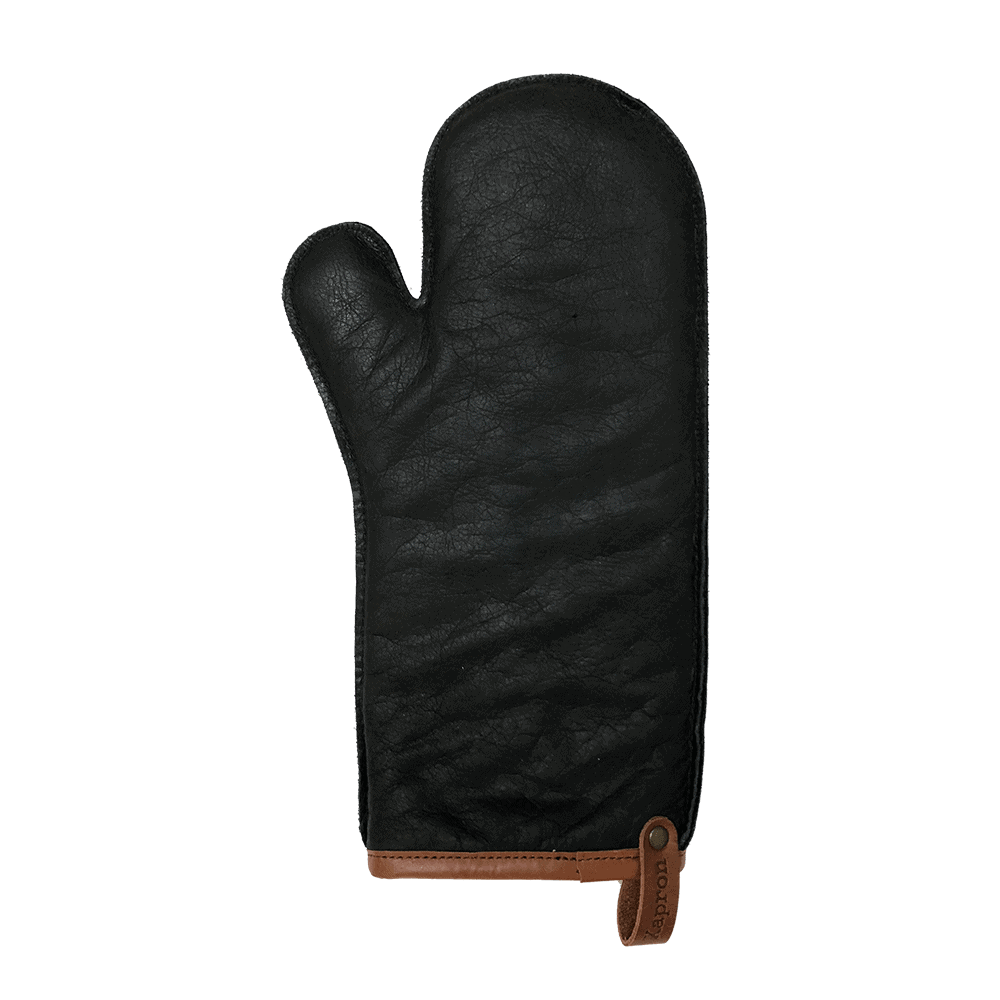 LEATHER OVEN GLOVE LARGE