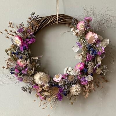 Craft Kit : Dried Flower wreath making kit