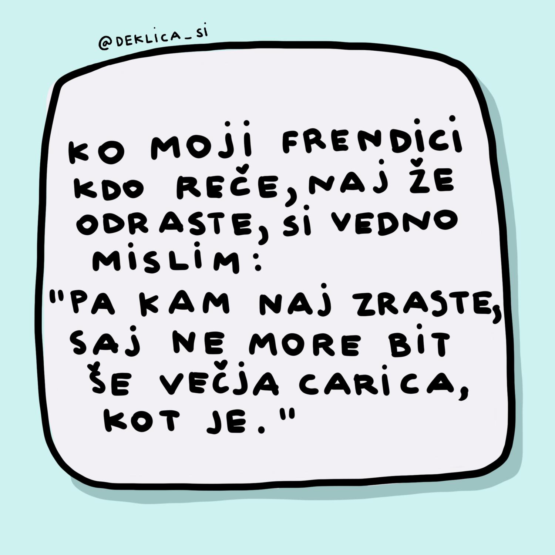 Print 'Prijateljica carica', 14x14 cm (brez okvirja) BREZ POŠTNINE