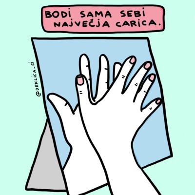 Print 'Največja carica' XXXL, 24x24 cm BREZ POŠTNINE
