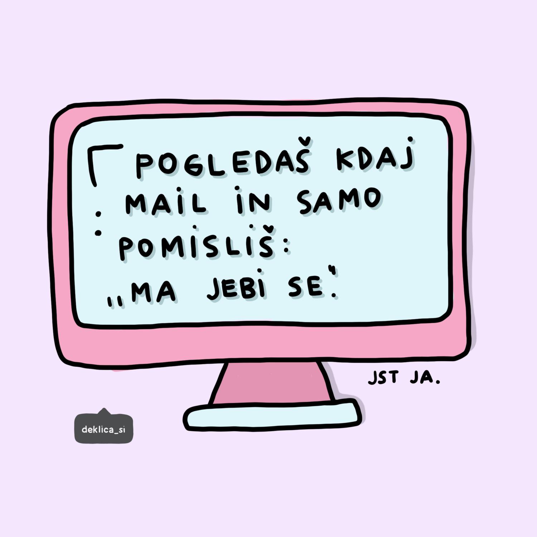 Print 'Mail' 14x14, BREZ POŠTNINE