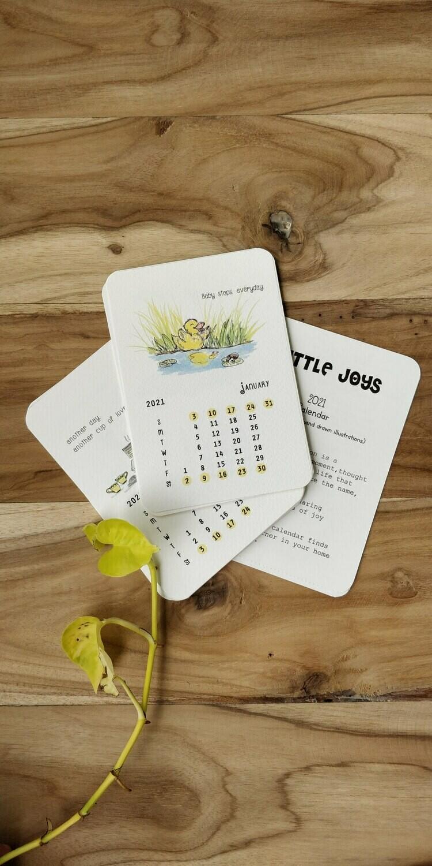 2021 Calendar - LITTLE JOYS