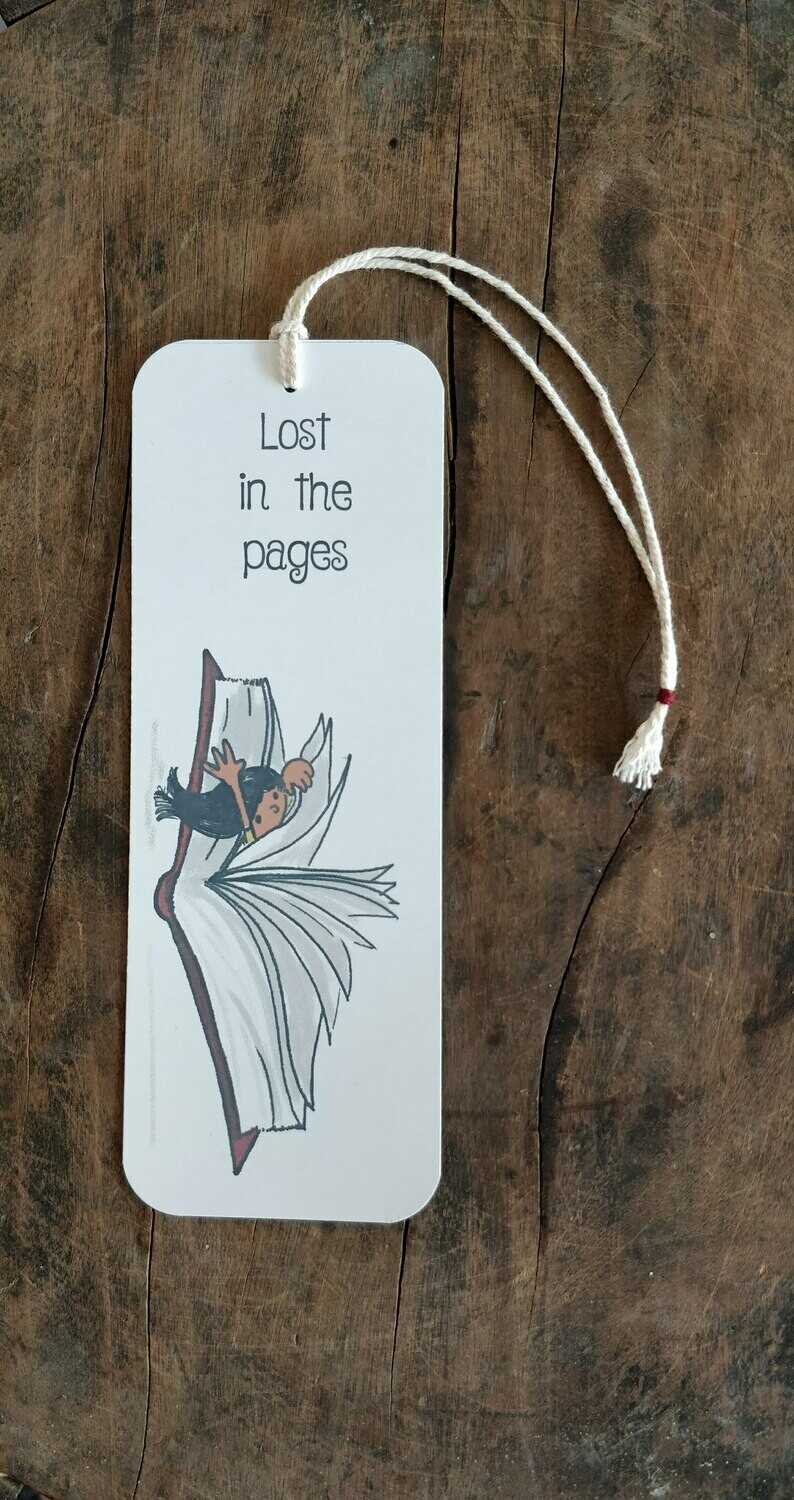 """""""Lost in the pages"""" - BOOKMARK"""