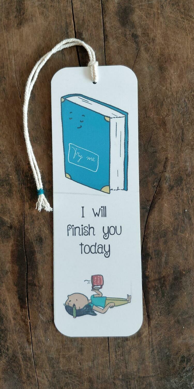 """I will finish you"" - BOOKMARK"