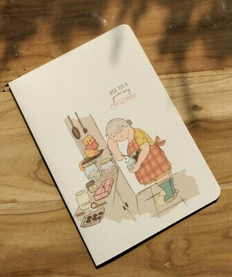 """Yummy Christmas"" Card"