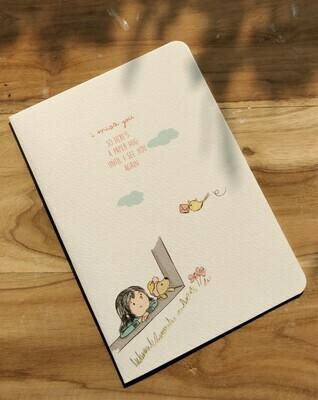 """I miss you"" Card"