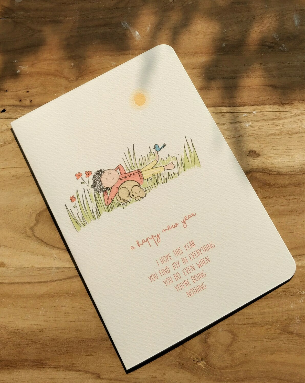 """Joy"" New Year Card"