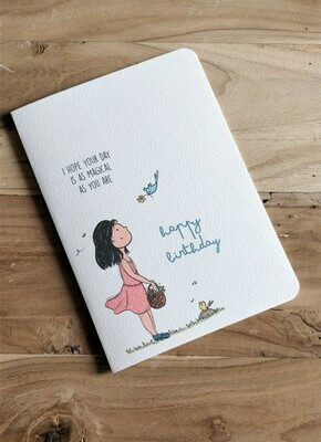 """Magical Day"" Birthday Card"