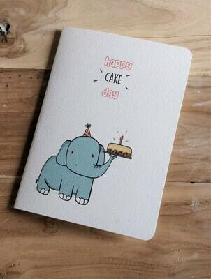 """Cake Day"" Birthday Card"