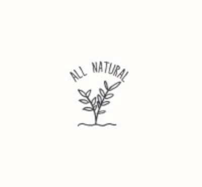 """""""All Natural"""" Rubber Stamp"""