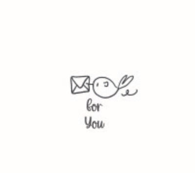 """""""For You"""" Rubber Stamp"""
