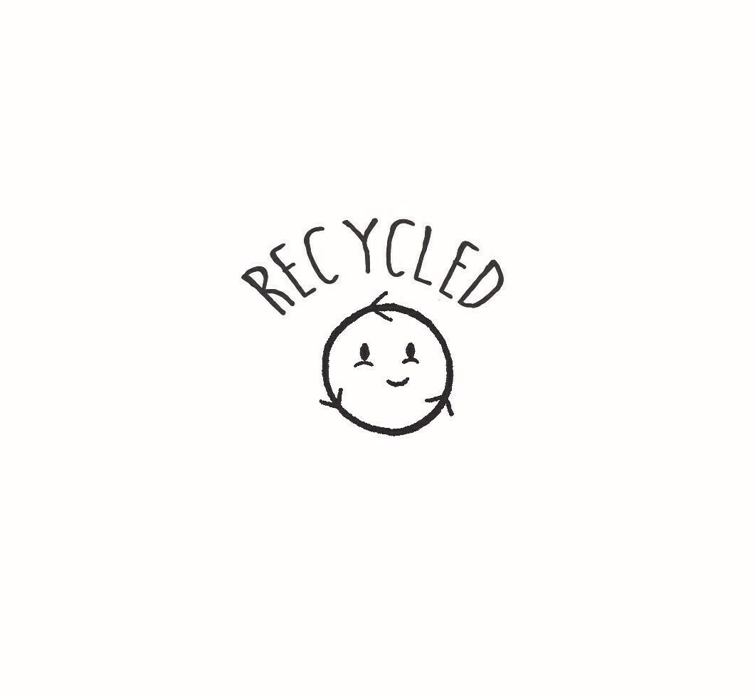 """""""Recycled"""" Rubber Stamp"""